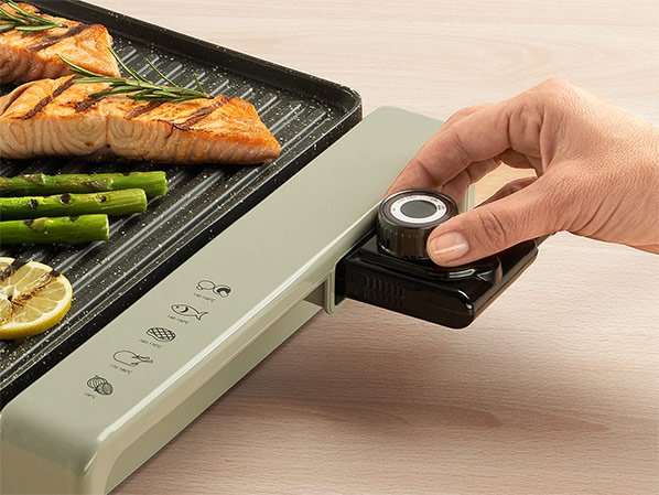 Delimano Joy Electric Table Grill and Griddle